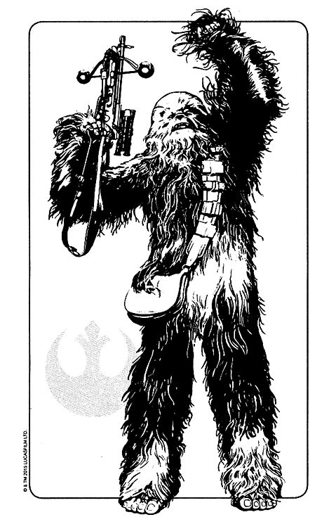 10 Free Star Wars Coloring Pages: Chewbacca, Kylo Ren