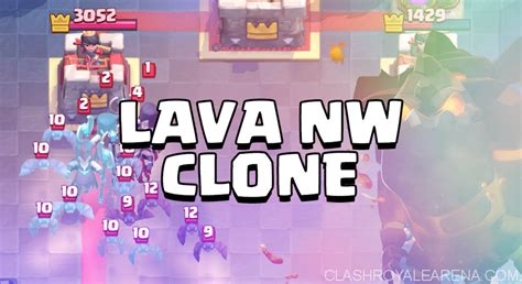 Lava witch clone deck for clash royale   Universal information