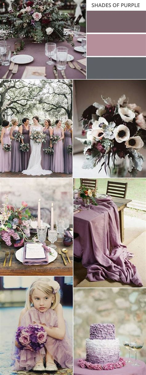 Top 10 Gorgeous Fall Wedding Color Palettes 2020