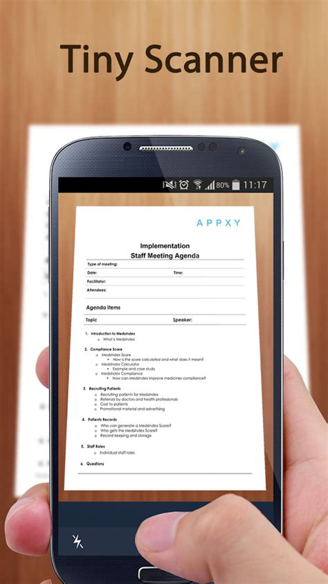 Tiny Scanner - PDF Scanner App for Android - Free download