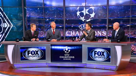 Fox Sports To Stream UEFA Champions League Matches on