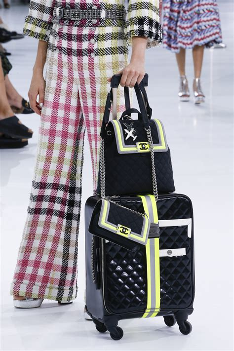 Chanel Spring/Summer 2016 Runway Bag Collection Featuring