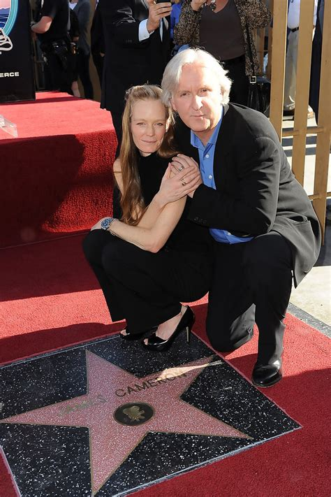 Suzy Amis, James Cameron - James Cameron Honored On The