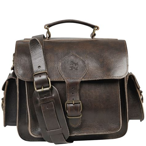Grafea Leather Camera Bag - Brown Womens Accessories