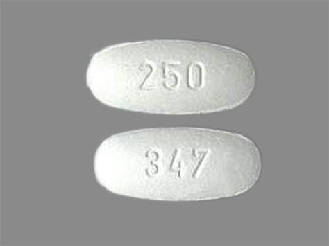 347 250 Pill Images (White / Elliptical / Oval)