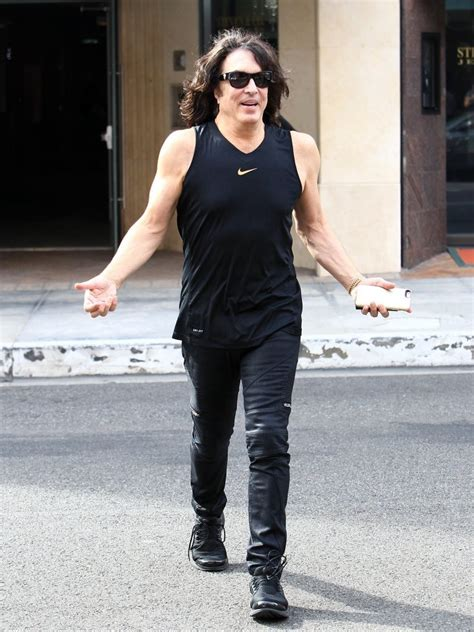 Paul Stanley Photos Photos - Paul Stanley Shops in Beverly