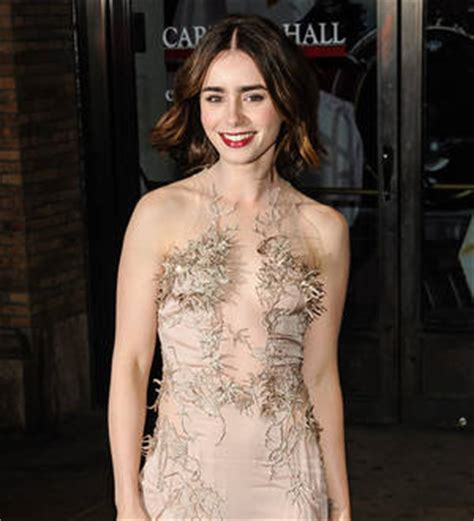 Young Hollywood   Lily Collins linked to actor Thomas