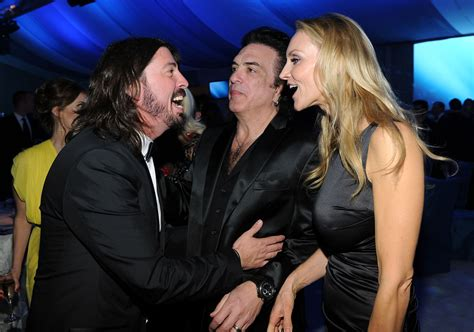 Paul Stanley, Dave Grohl, Erin Sutton - Paul Stanley Erin