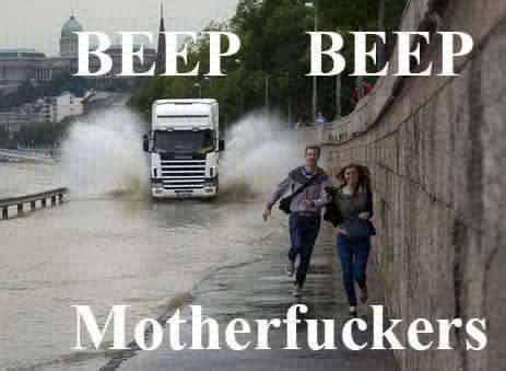 Car meme - Beep Beep | Funny meme pictures, Funny pictures