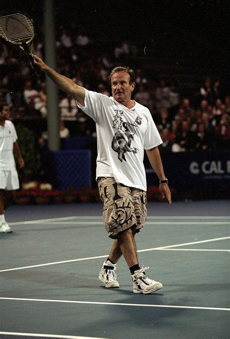 Exhibit I: Robin Williams in a Matching Tennis Outfit