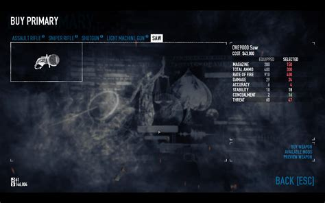 Payday 2 Guide - How to get a saw - GameplayInside