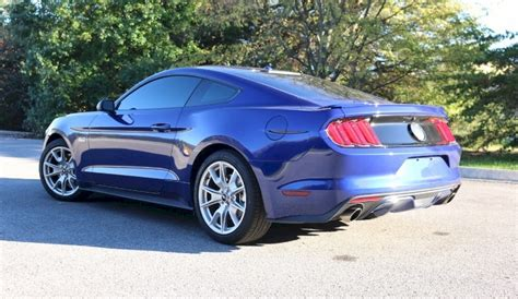 Deep Impact Blue 2015 Ford Mustang GT Fastback