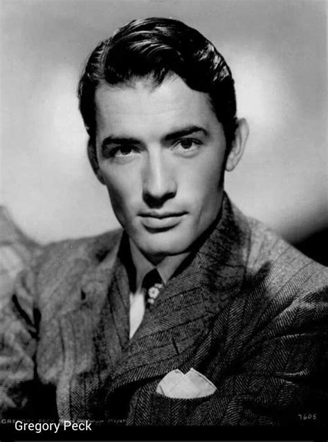 Eldred Gregory Peck was an Academy Award-winning American