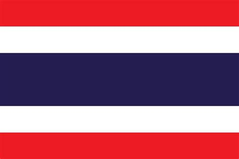 Flag of Thailand image and meaning Thai flag - country flags