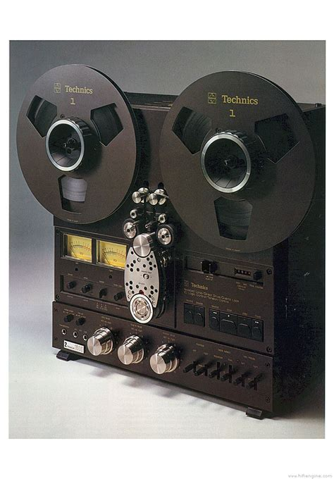 Technics RS-1500US - Manual - Stereo Reel to Reel Tape