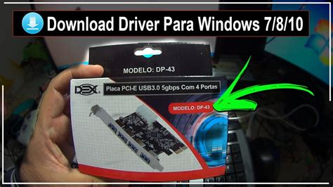 Placa PCI-E USB 3