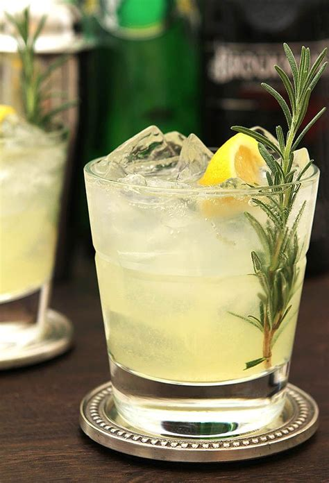The Ophelia Cocktail is a Rosemary and Gin Sparkling