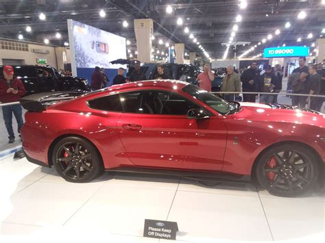 Red Hot Metallic GT500 at the philly car show
