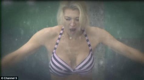 Gillian Taylforth, 57, shows off her youthful figure as