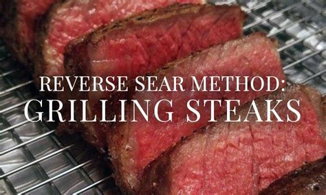 Reverse Sear Steak Recipe for the perfect angus beef steak