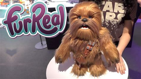 Star Wars: Furreal Ultimate Co-pilot Chewie - YouTube