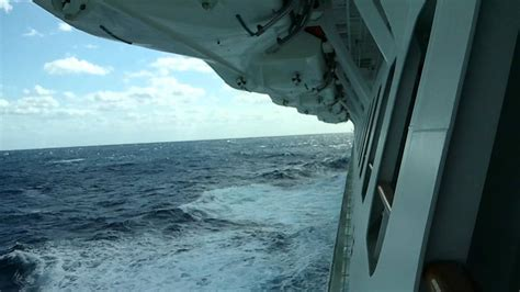Carnival Magic view from cove balcony - YouTube