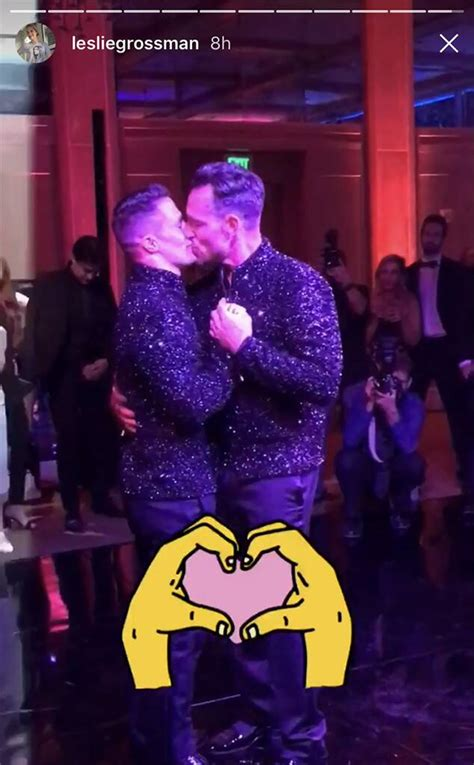 Kiss from Colton Haynes and Jeff Leatham's Wedding | E! News