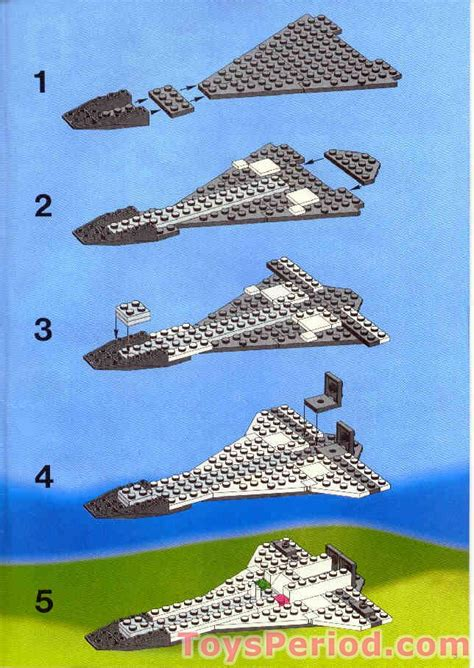 LEGO 1682 Space Shuttle Set Parts Inventory and