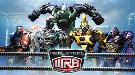 Download Real Steel World Robot Boxing MOD (Money/Coins