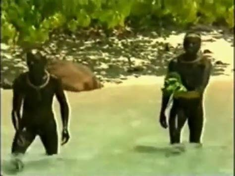 Sentinelese Contact with Indians - YouTube