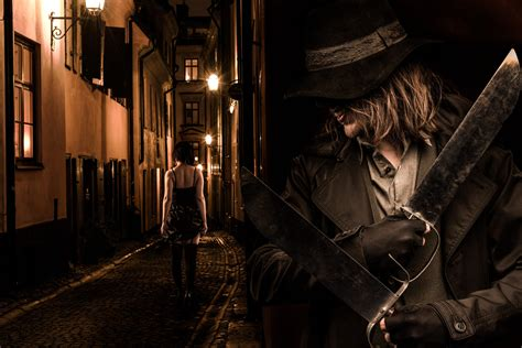 Jack the Ripper is a Beautiful Dark Photo Story