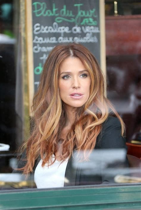 Poppy Montgomery - Red Ombre hair done right   Hair-y