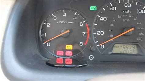 Diagnosing a Check Engine light on a 6th generation Accord